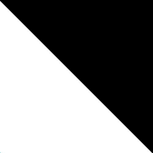 biały / czarny