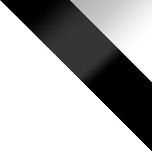 korpus: biały, drzwi: czarny połysk, szuflady: biały połysk