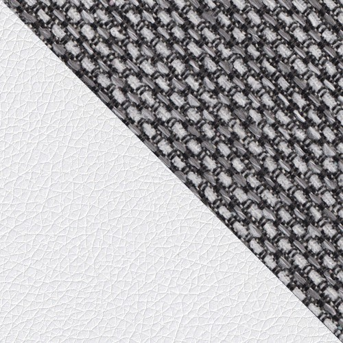 ekoskóra Soft 017 (biała) + Sumatra 06