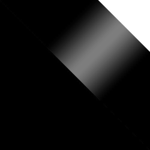 czarny / czarny połysk + biały