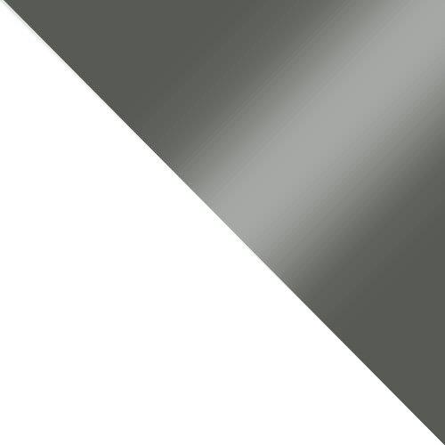 biały / szary połysk