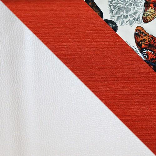 ekoskóra Soft 017 + Grande 49 + Butterfly 05