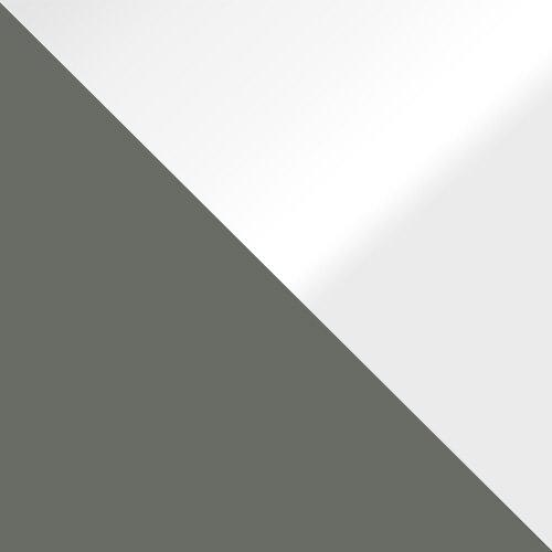 szary / biały połysk