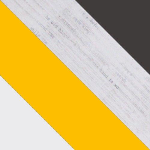 biały + żółty / enigma + grafit