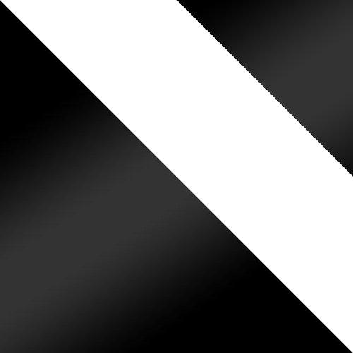 czarny / biały + czarny lacobel