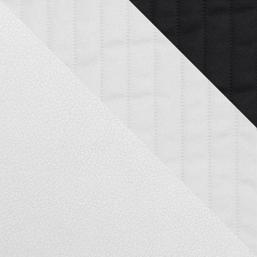ekoskóra Soft 017 (biała) + Pik G 23360G + Pik G 23450G