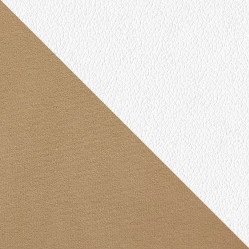 Trinity 04 + ekoskóra Soft 017 (biała)
