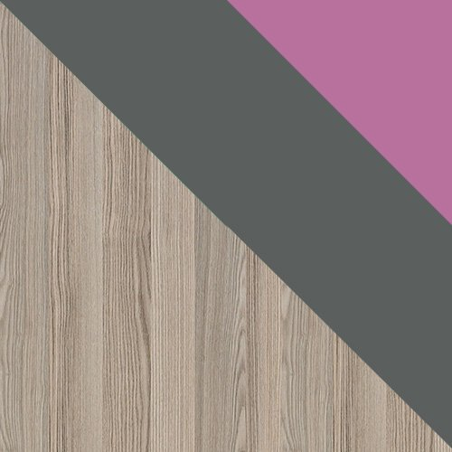 jesion coimbra ciemny / antracyt + fiolet