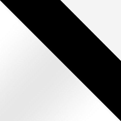 biały / czarny mat / biały mat