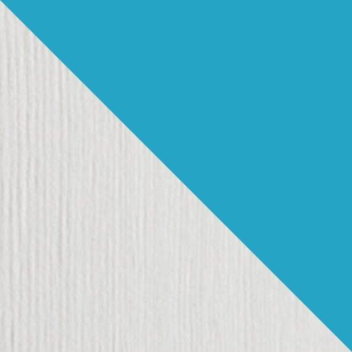 Sosna barwiona na bialy + niebieski