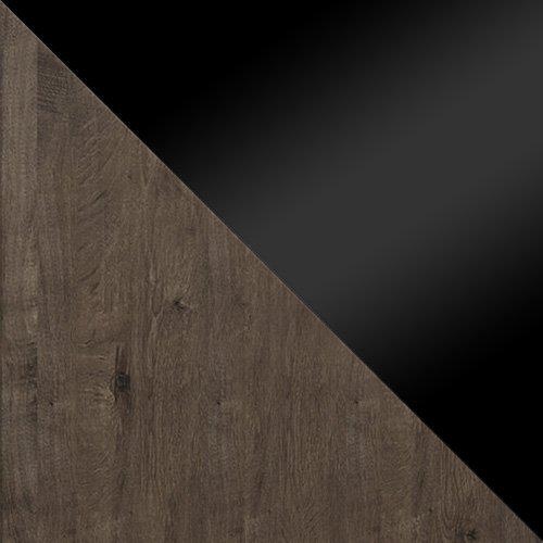 jesion ciemny / czarny połysk