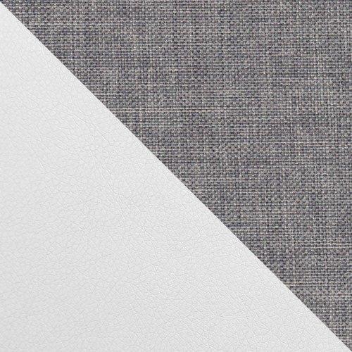 ekoskóra Soft 017 (biała) + Sawana 21