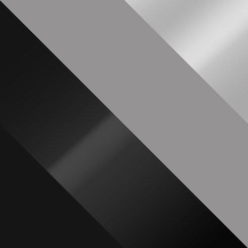 czarny + czarny połysk / szary + szary połysk