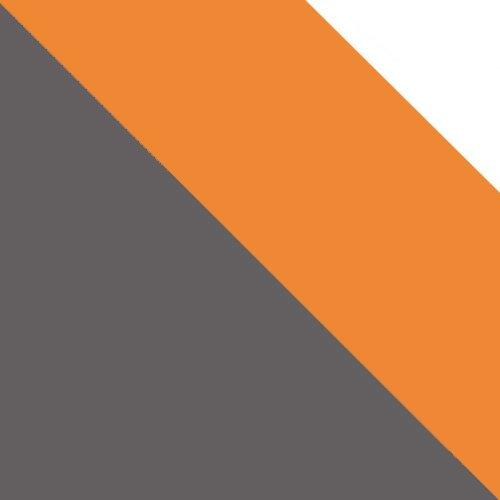 uni wolfarm szary / pomarańczowy + biały