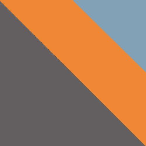 uni wolfarm szary / pomarańczowy + niebieski