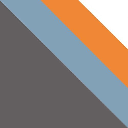 uni wolfarm szary / niebieski + pomarańczowy + biały