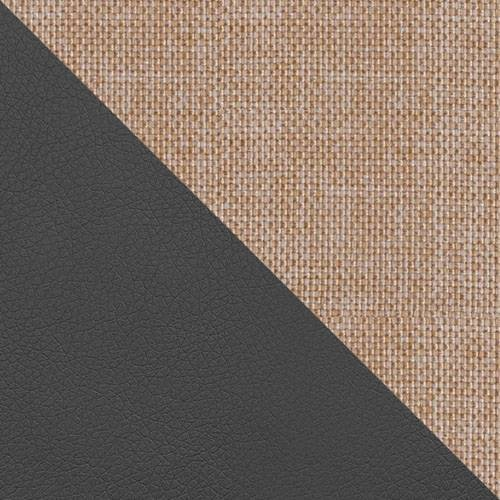 ekoskóra Soft 020 (grafit) + Lux 24
