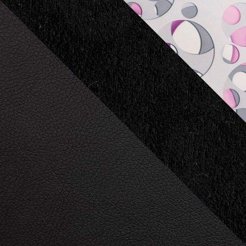 ekoskóra Soft 011 (czarna) + Alcala 14 + Neptun 04