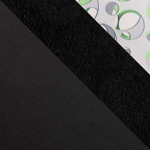 ekoskóra Soft 011 (czarna) + Alcala 14 + Neptun 02