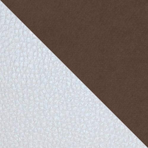 ekoskóra Soft 017 (biała) + Casablanca 2307
