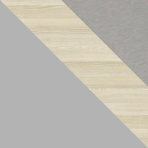 szary platynowy / akacja / aluminium