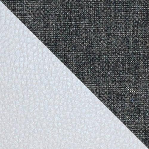 ekoskóra Soft 017 (biała) + Lux 06