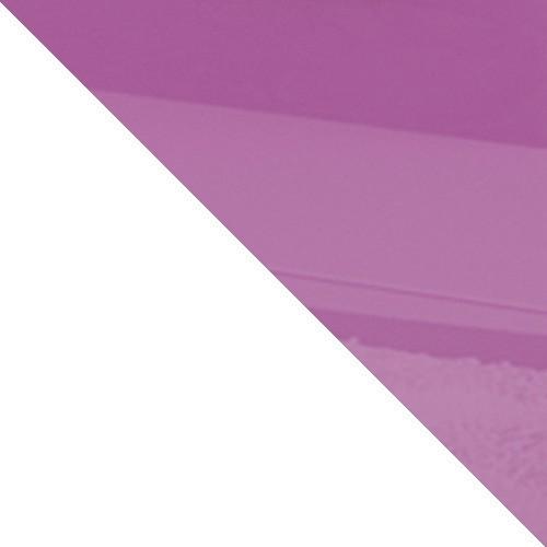 biały / fioletowy połysk