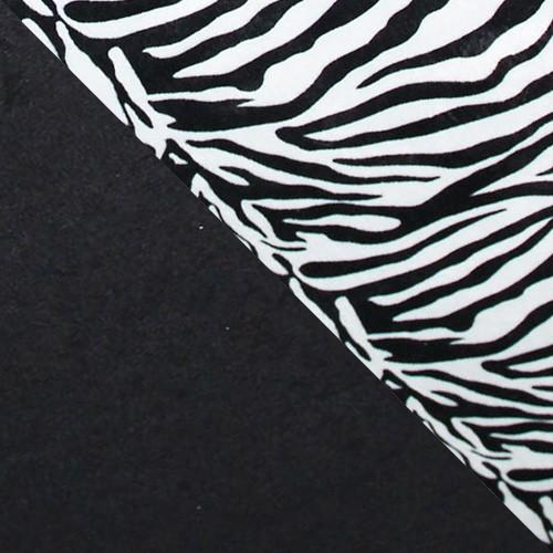 """suedine 24 + wzór """"zebra"""""""