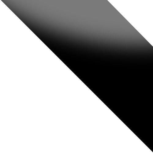 biały / biały + czarne szkło połysk