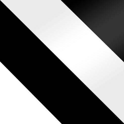 biały + czarny / biały połysk + czarny połysk