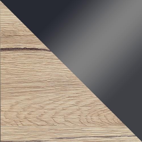 san remo / grafitowe szkło