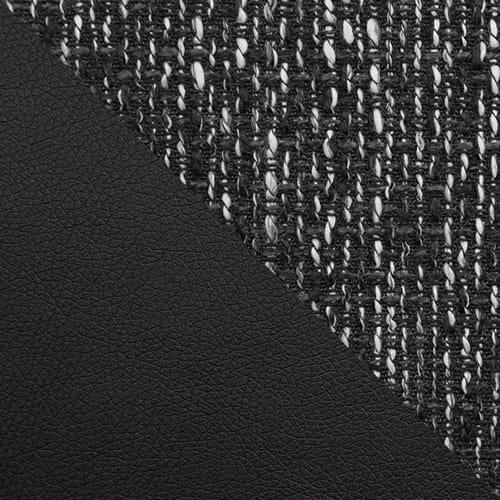 ekoskóra Soft 011 (czarna) + Lawa 06