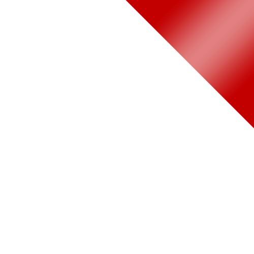 biały / biały + czerwony połysk