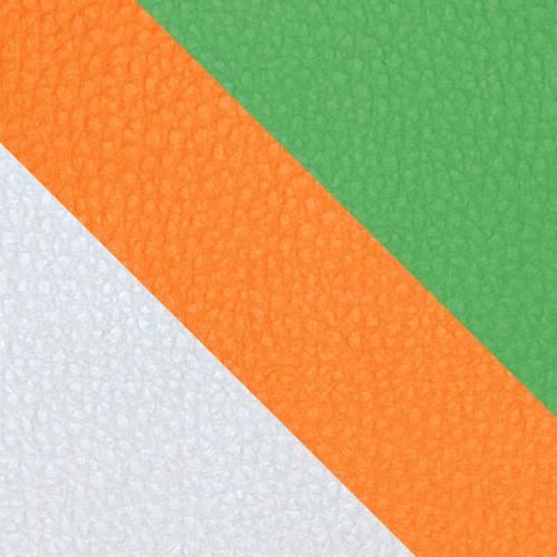 volleyball - bialy / pomarańczowy / zielony